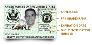 How To Get A Military Id Card Money For Veterans